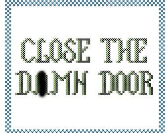 Not so Friendly Reminders Cross Stitch PDF Patterns