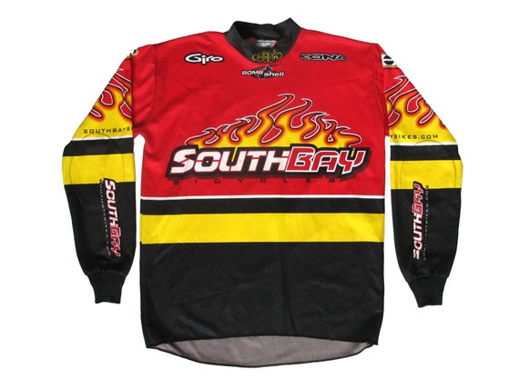 South Bay Bicycles Flames L/S Cycling Jersey