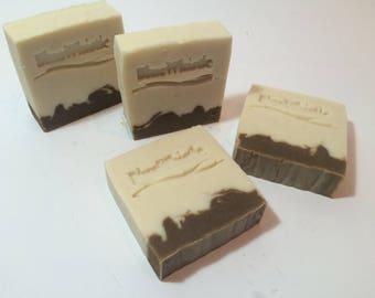 Ginger Kelp Soap - Natural Clay Soap - Artisan Soap - Luxury Soap - Handmade Soap - Homemade Soap - Cold Process Soap - Bar Soap