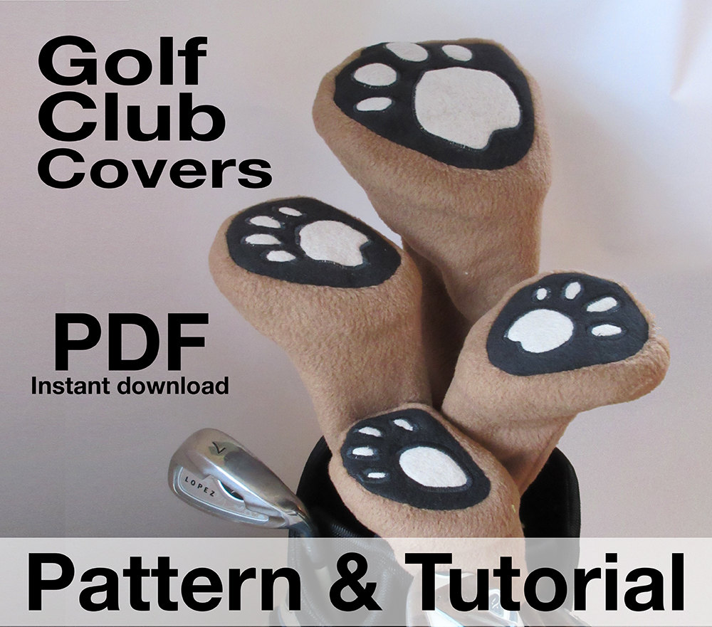 Golf Club Head Covers Sewing Pattern Classic styling .pdf