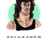 Sylvester Stallone Print...