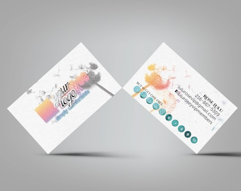 Dandelion Punch Card Loyalty / Reward Card - home office approved
