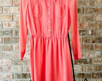 Delicate Cotton Shirt Dress