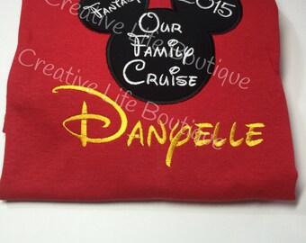 Disney Cruise Shirt- Youth/ Disney Cruise shirts/ Disney mousehead shirts,