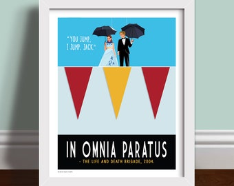 In Omnia Paratus - Art Print Poster Quote