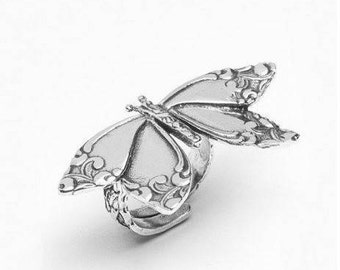 "Spoon Ring: ""Butterfly"" by Silver Spoon Jewelry"