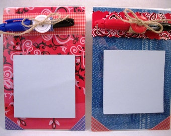 Teacher Gift All Occasion gift Sticky Note Pad Holder