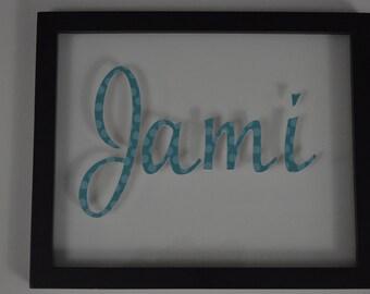 Script Name Art - 3D