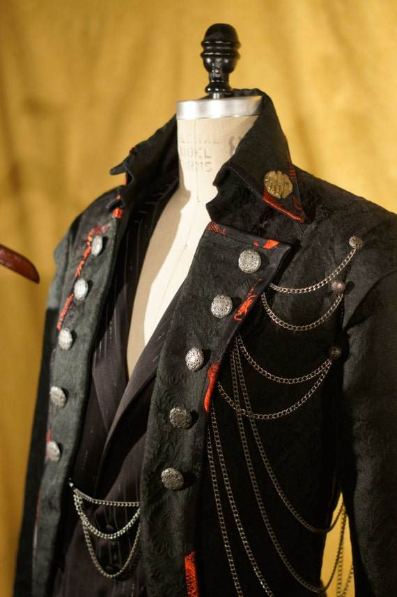 Rocker Steampunk and Goth Tuxedos with Tailcoats