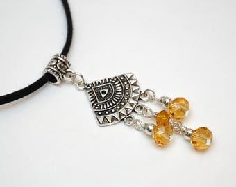 choker necklace boho choker crystal choker pendant necklace crystal pendant charm necklace antique metal charm crystal charm necklace charm