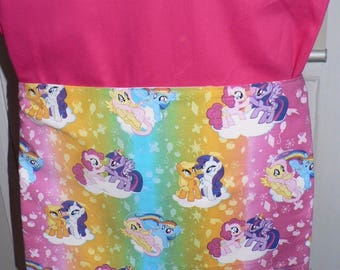 Handmade Chair Bag First Name Embroidered Free My Little Pony