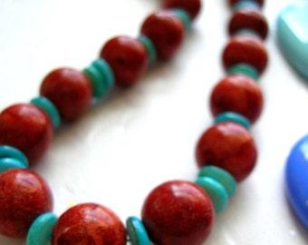 Coral Clad Necklace