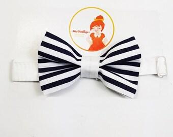 Navy bowtie
