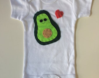 Yummy Avocado Baby Onesie