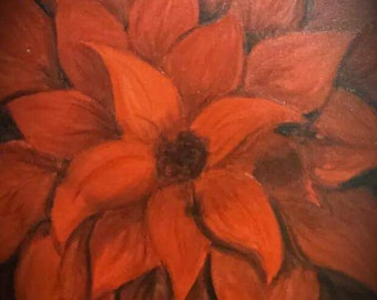 Red Flower (Print)