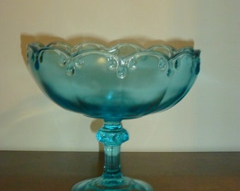 Indiana Glass Teardrop Pattern Fruit Bowl