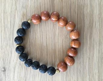 Lava + Oil Bracelet
