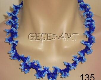 135 ruffle Blue Blue Blue