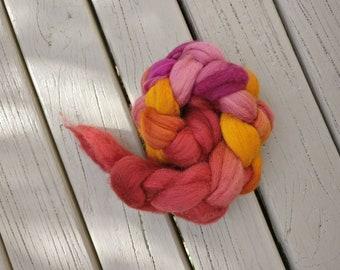 18.5 Micron Merino Wool Fibre 50g- Ochre