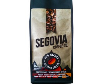 Nicaragua (Single Origin) - Whole Bean - 12 oz Medium Roast  100% Arabica hand roasted gourmet coffee, small farmers