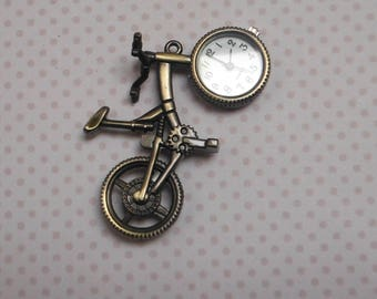 Bicycle watch pendant