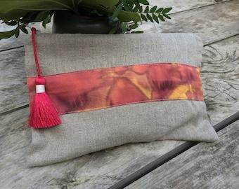 Women's linen  Cloth Bag