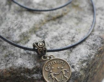 NECKLACE Bronze Zodiac Charm