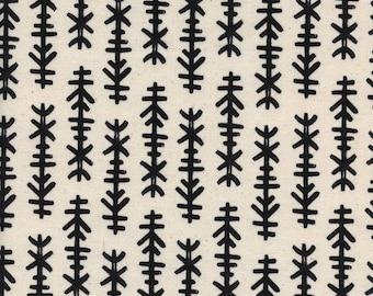 Chimes Natural - BLACK & WHITE 2017 - Cotton and Steel Fabrics - Collaborative 5119-01