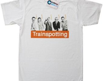 Trainspotting Cult Movie Film Poster T Shirt 1996 90's Danny Boyle Ewan McGregor