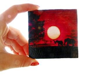 Mini paintings AFRICA