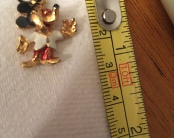 """Vintage Mickey Mouse Charm 1/2"""""""