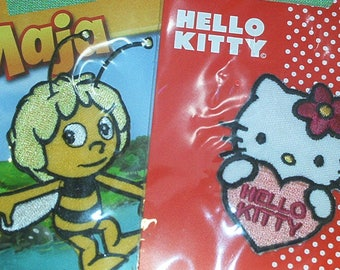 Set of 2 girl collection: Hello Kitty and Maya the bee