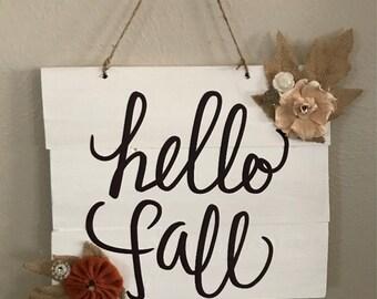 Fall wall decor