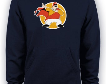 The Cannonball Run - Dom DeLuise Captain Chaos Hoodie