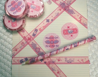 Magical Girl First Aid Washi Decorative Scrapbooking Tape