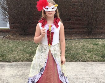 Ever After High Apple White Dress Costume