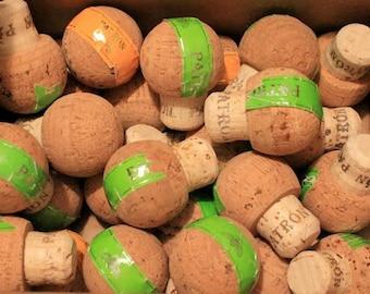 10 PATRON 750ML Tequila Corks- 100% PATRON cork, Real Patron Corks
