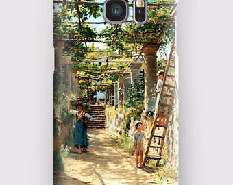 Case for Samsung S5, S6, S6 and S7, S7 + S8 S8 + A3, A5, J3, GP Note 4,5, 8, PERGOLA