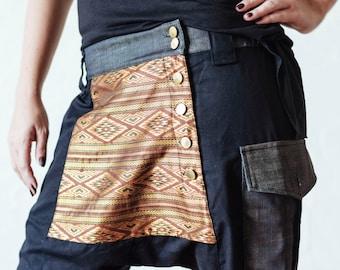 how to wear tribal print harem pants