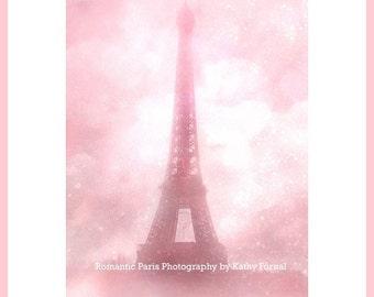 Pink Eiffel Tower Print, Paris Pink Eiffel Tower, Paris Photography, Baby Girl Nursery Decor, Pink Eiffel Tower Print, Eiffel Tower Prints