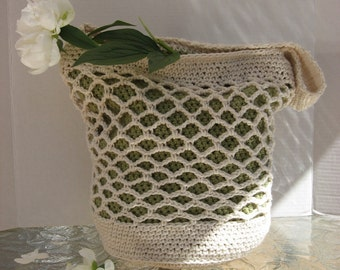 All Season Stylish Sling Bag, Crochet  Pattern Pdf, Instant pattern download available