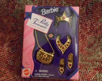 1995 Mattel Barbie's Pretty Treasures-Sealed Box