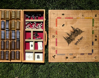 DOCUMENTS ONLY for Harry Potter Monopoly Board - DIY