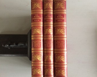 THE ROYAL SHAKESPEARE - 3 Volumes