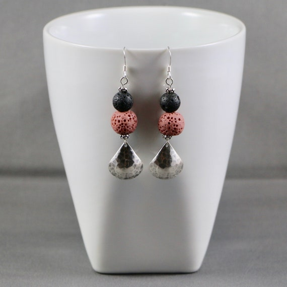 Acclivity Earrings - Essential Oil Diffuser Jewelry