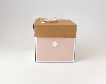 Explosion box Pastel Baby Girl
