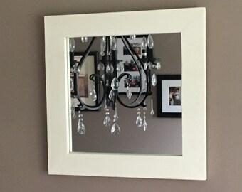 AVAILABLE:  Beautiful Cedar Mirror - Various sizes / Custom Mirror / Rustic Mirror / Farmhouse / Painted Mirror / Stained Mirror