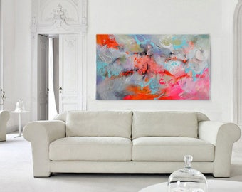 Large Abstract Art, Modern Art Canvas, Living Room Decor, Fine Art Painting, Contemporary Art, Wall Art Abstract, Wall Hanging, Art Work