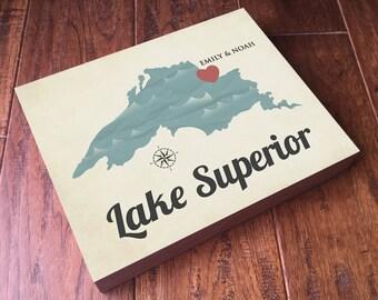 Lake Superior Art - Lake Superior Wood Wall Art - Lake Superior Print - Lake Superior Wall Art - Lake Superior Wood - Lake Superior Poster