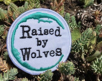 Raised by Wolves iron/sew on patch